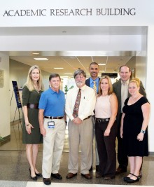 Faculty: Pamela Patton, Robert Bobilin, Ralph Rice, David Indrawis, Shalon Buchs, Petar Breitinger, and Elizabeth Brownlee.  Not Pictured: Jason Fromm, MD